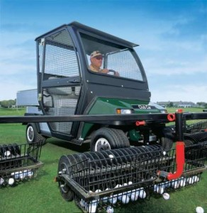 Golf Ball Range Machine